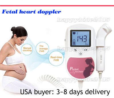 Best Offer Prenatal Fetal Doppler Beat Heart Monitor Fhr3m Probefrom Usa