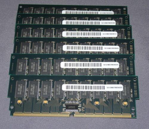 6x Lot 64MB 200-Pin ECC RAM DIMM Samsung Sun Ultra2 SEC KMM3144C404BS1-6S Memory