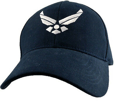 U.S. Air Force Insignia Hat - USAF Dark Navy Baseball Cap