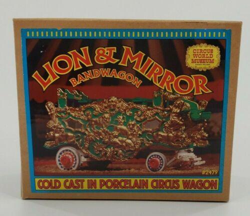 ERTL Collectibles Lion & Mirror Bandwagon Porcelain Circus Wagon VTG - 1