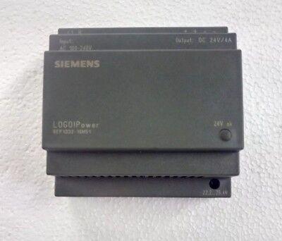 Siemens 6ep1332-1sh51 Logo Power Supply 100-240vac To 24vdc4a