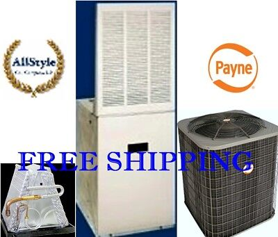 4 Ton R-410A 14SEER Mobile Home System Condenser & 17KW Electric Furnace & Coil