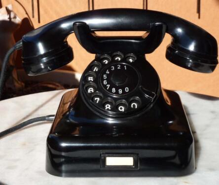 biete nostalgisches telefon w 48 wie neu in berlin neuk lln ebay kleinanzeigen. Black Bedroom Furniture Sets. Home Design Ideas