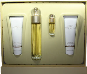 360-PERRY-ELLIS-BY-PERRY-ELLIS-4PCS-GIFT-SET-FOR-WOMEN-NEW-IN-GIFT-BOX