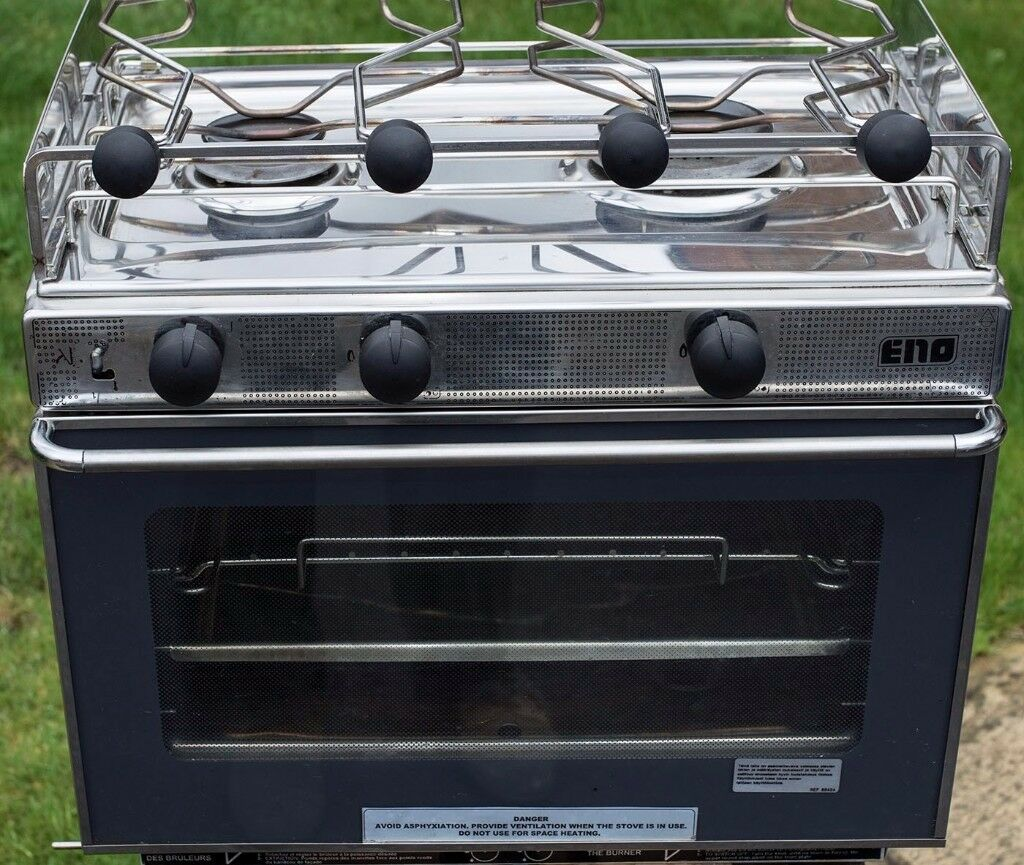 ENO 2-BURNER GAS TABLE COOKER