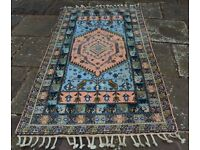 Moroccan pure wool rug