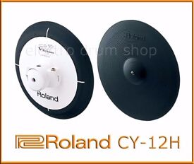 Roland CY-12H Dual Trigger Pad Excellent V Drums Electronic hi hat cymbal pad 12 inch 2 zone