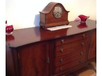 MAHOGANY SIDEBOARD BY WILLIAM BARTLETT IN LOVELY CONDITION