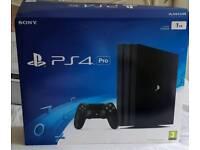 Playstation 4 pro 1tb bundle Boxed