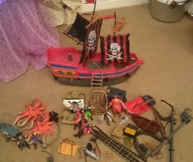 Quality Pirate Black Devil Playsets Collection
