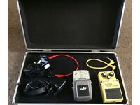Guitar pedals and case £55