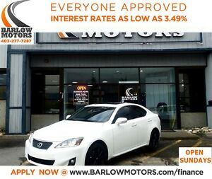 2012 Lexus IS 250 FULLY LOADED!**AMVIC INSPECTION & CARPROOF PRO