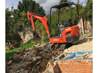 Digger and Dumper services and all groundworks. London and area.
