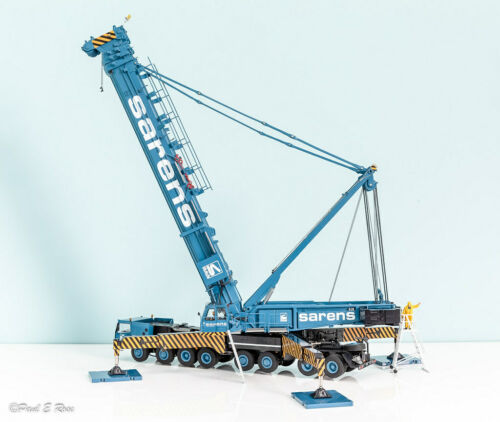 Liebherr LTM 11000D Mobile Crane - Sarens - YCC 1:50 Scale Model #20-1061 New!