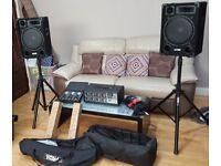 Complete Studio & Live PA system