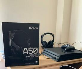 PS4 - AstroA50 (Gen 4) Wireless W/Base and Mod Kit