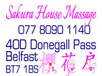 Professional Chinese Massage located in Central Belfast, 40D Donegall Pass BT7 1BS with Free Parking