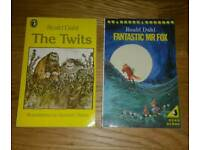 2 RONALD DAHL BOOKS