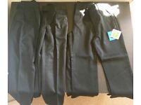 4x boys school trousers