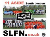 JOIN 11 ASIDE FOOTBALL TEAM IN LONDON, FIND SATURDAY FOOTBALL TEAM, JOIN SUNDAY FOOTBALL TEAM DC554R