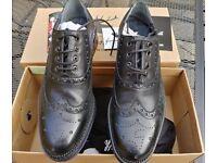 Hand Made Goodwin Smith Leather Brogue Black UK8 BNWB