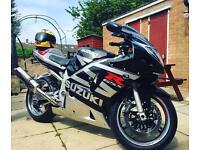 Suzuki GSXR 600 very clean bike 21000miles