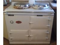 1960s white oil powered AGA