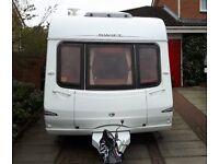 2006 Swift Charisma 540, 5 Berth Touring Caravan, single axle