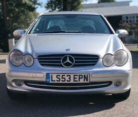Mercedes-Benz CLK 240 2.6 V6 Avantgarde Automatic