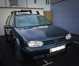 VW MK4 Golf 1.6 (roof rack and spare set of winter tyres included)