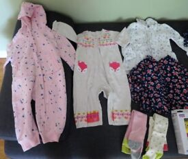Baby girl / toddler clothes bundle 9-12 months