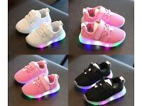 Led toddler trainers brand new