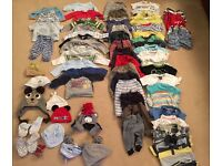 Boys 3-6 months clothes excellent condition