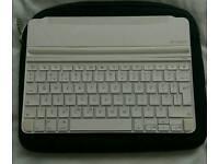 White logitech Bluetooth Keyboard