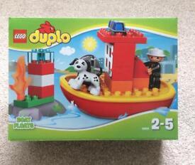 Lego Duplo Fire Boat 10591 BRAND NEW SET
