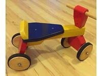 Wooden Baby's First Bike