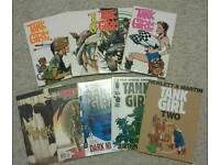Tank Girl comic set