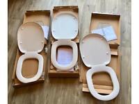 3 x Sottini Toilet Seats with fixings - Bargain!