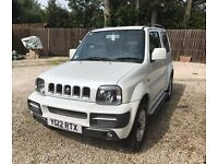 SUZUKI JIMNY FOR SALE - VGC, MOT MARCH 2018, PEARLESCENT WHITE, ONE OWNER