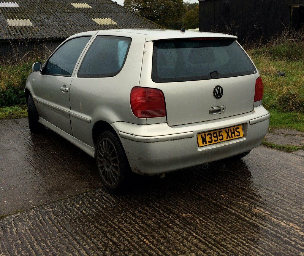 VW Polo Gti Silver 2000 Fix Up/ Parts