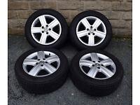 "17"" Genuine Thunder Volkswagen Transporter T5 alloy wheels tyres 5x120"