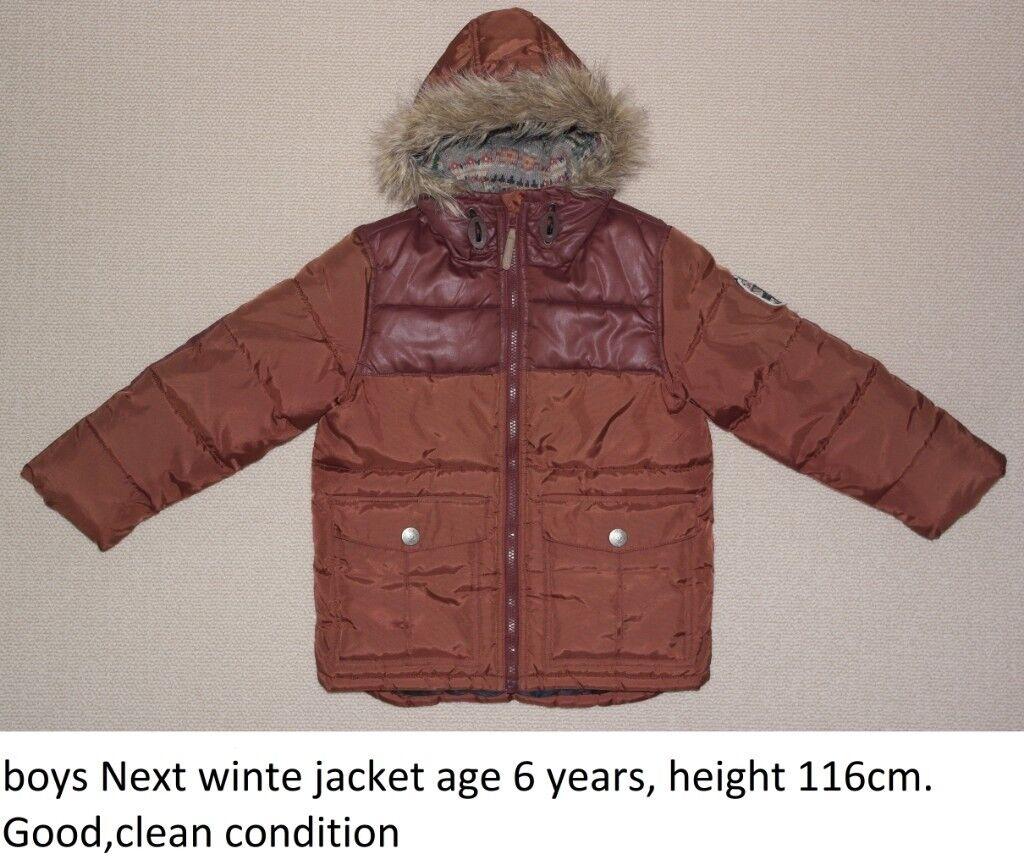 e3434c616da0 Boys winter jacket age 6 y