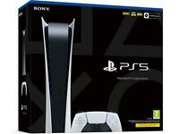 For sale brand new not opened digital ps5