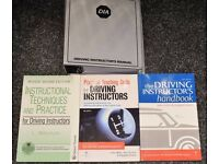Driving instructor exam textbooks
