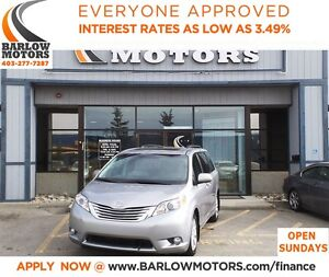 2011 Toyota Sienna LIMITED AWD*EVERYONE APPROVED* APPLY NOW DRIV