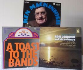 3 LPs - Big Band Music from Kurt Edelhagen; Ken Mackintosh and Ron Goodwin