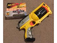 Maverick Rev-6 nerf Gun and Bullets