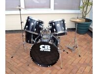 COMPLETE CB ROCK DRUM KIT