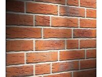Brick /slips tiles and coners NF687 yellow/red/black flamed
