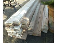 selection of reclaimed soft /hard woods